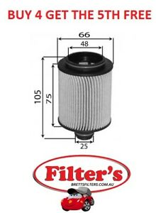 OIL FILTER FOR OPEL ASTRA 6MT/6AT A20DTH 4CYL 2.0L DIESEL DI DOHC 16V 09/2012-ON