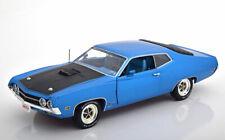 1:18 Ertl/Auto World Ford Torino Cobra 1970 bluemetallic/black