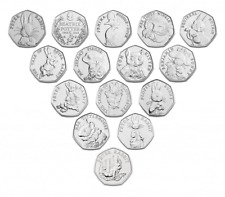 Beatrix Potter Jemima Puddleduck Peter Rabbit 2018 2019 2020 Cheap 50p Coin Hunt