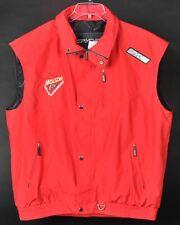 Spyder Vest Mens XL Molson Ice Thinsulate Insulation Full Zipper Red