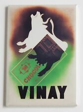 Vinay Chocolate Milk FRIDGE MAGNET (2.5 x 3.5 inches) poster candy bar cow sign