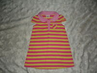 NICE Girls HANNA ANDERSSON Striped DRESS Size 100 4T