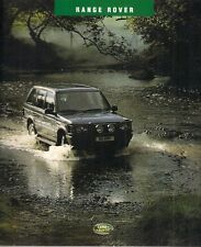 RANGE Rover ACCESSORI 1994-1995 Regno Unito delle vendite sul mercato opuscolo