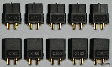 5 Male / Female Pair Genuine Black XT60 / XT-60 Battery Bullet Connectors Plugs