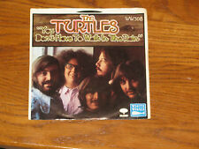 TURTLES You don't have to walk in the rain PICTURE SLEEVE and Record - 45