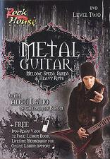 Aprender Metal guitarra melódicas velocidad, triturar & riffs 2 Dvd