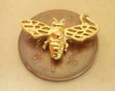 FULLY HALLMARKED BEAUTIFUL 9CT GOLD BEE CHARM CHARMS