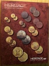 Heritage Galleries Sep 8-11 2011 Long Beach US Rare Coin Auction Catalog #1159