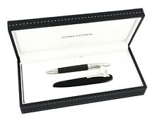 Jorg Hysek Carbon Fiber Mini Rollerball Pen with Pen Case