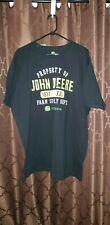 NWT Men's John Deere Property Of John Deere Farm Supply Size XXL Black