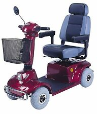 CTM HS-580 Standard Sized 4 Wheel Mobility Scooter with FREE SOHO Seat Back