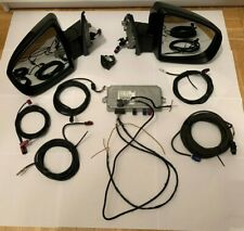 #BMW X6 E71 REAR TOP VIEW OEM CAMERA SET COMPUTER WIRES MIRROR FULL WITH GLASS