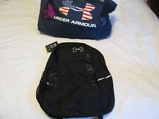 BRAND NEW UNISEX Under Armour UA RUSH Backpack Black/White 18x13x8 FREE SHIPPING