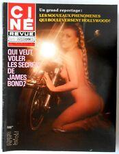 ►CINE REVUE 43/1978- NICK NOLTE- LINDSAY WAGNER- FARRAH FAWCETT- ROGER MOORE...
