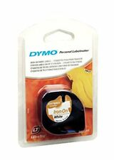 1-36 x D1 heat shrink tube 2.5m RS11W black//white for DYMO label manager printer