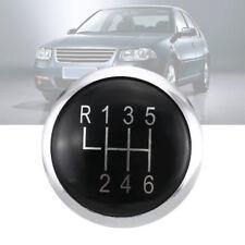 1Pc 6Speed Gear Knob Stick Lever Emblem Trim Cap Cover For 01-13 VW Bora/GOLF 4