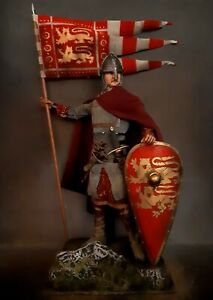 "12"" CUSTOM WILLIAM THE CONQUEROR, DUKE OF NORMANDY AND KNIGHT 1/6 FIGURE IGNITE"