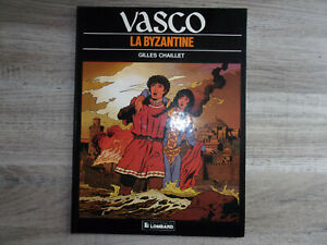 "VASCO tome 3 en EO  ""La Byzantine"" Gilles CHAILLET"