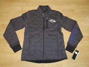 Baltimore Ravens G-III Full Zip Polar Thermabase Tech Jacket size Women's Small