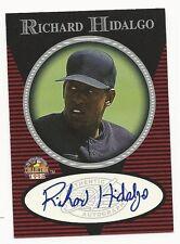 Richard Hidalgo 1998 Score Board Autograph Collection Card.