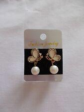 Butterfly Rhinestone Stud Fashion Earrings