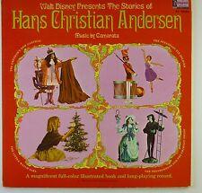 "12"" LP - Walt Disney - Hans Christian Andersen - k5846 - washed & cleaned"