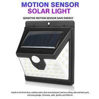 Waterproof 40 LED Solar Power PIR Motion Sensor Wall Outdoor L Garden Light F6D2