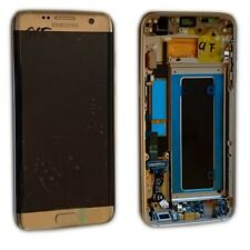 Display Full LCD Komplettset GH97-18533C Gold für Samsung Galaxy S7 Edge G935F