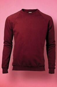Herren Raglan Sweatshirt von SG 10 Farben Öko-Tex® Innen angerautes Fleece SG23