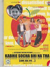 Kabhie socha Bhi Na tha [ Love sex ..] [Dvd] + Free Cd