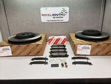Toyota Camry SE 2012 - 2017 Front Brake Pads & Rotors Set Genuine OEM OE