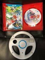 Super Mario Kart 8 (2012) NES Wii U Complete Case Manual Disc Tested &  wheel