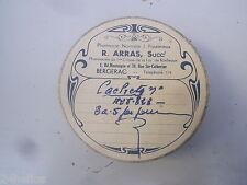 Boite ancienne époque Art Nouveau Pharmacie R.ARRAS à Bergerac publicitaire