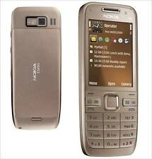 NOKIA E52 GOLD - Single Sim GSM - DUAL CAMERA - WiFi - FM - 3G - CALL RECORDING