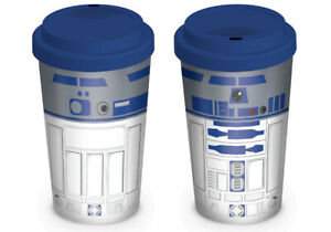 Official Star Wars R2-D2 12oz. Boxed Ceramic Travel Mug NEW & IN STOCK NOW