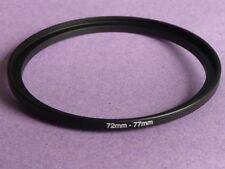 72mm A 77mm 72mm-77mm Stepping intensificar filtro anillo adaptador