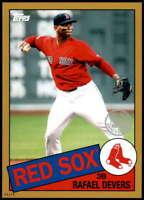 Rafael Devers 2020 Topps 1985 35th Anniversary 5x7 Gold #85-17 /10 Red Sox