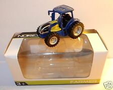 NOREV 3 INCHES FARMER 1/54 TRACTEUR AGRICOLE FARM TRACTOR NEW HOLLAND NH2 IN BOX