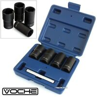 VOCHE® 4PC GRIP N TWIST SOCKETS LOCKING WHEEL NUT REMOVERS DAMAGED ROUNDED BOLTS