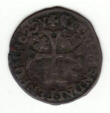 Louis XIII, 1629 N (Nimes) Huguenot douzain