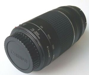 Canon Zoom Lens EF 75-300 mm