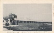 DILWORTH MN – Charlie's Motel (Highway No. 10)