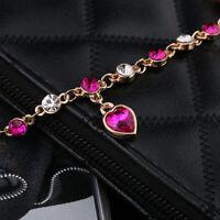 Bracciale Braccialetto Donna braccialetto con cuore di cristallo
