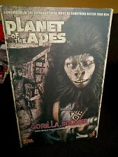 """Hot Toys Planet of the Apes GORILLA SOLDIER 12"""" inch Action Figure Sideshow 2009"""