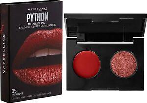 Maybelline Lip Studio Python Metallic Lip Makeup Kit,