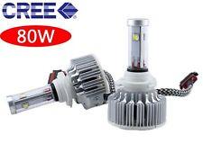 CREE LED 80W 6400LM HeadLight Conversion Kit 6k 6000k Diamond White - H7 W2
