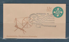 entier postal enveloppe USA 13c vert  Interphil 76 Philadelphia 1976