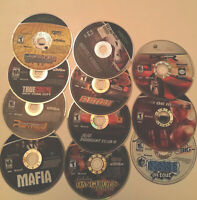 Lot of 11 Video Games Microsoft Xbox 360 Games Discs Only Untested DOA Flatout