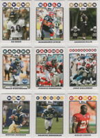 2008 Topps Football Team Sets **Pick Your Team**