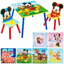 TW24 Disney Mickey Mouse Kinder Tisch mit 2 Stühlen Sitzmöbel Set
